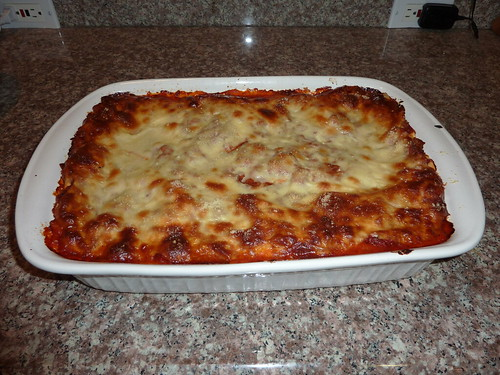 My famous lasagna. Yum!