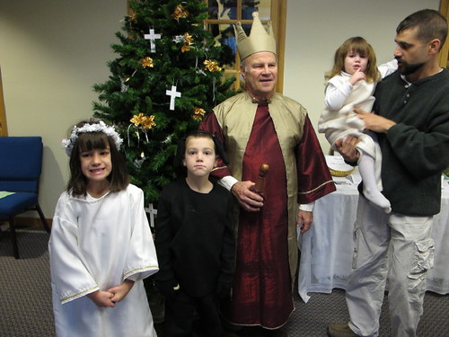 The Christmas Pageant participants