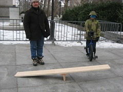Father - son - ramp