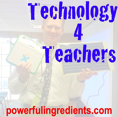Technology for Teachers (T4T) Class Logo