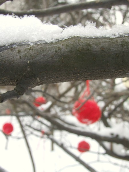 Handspun blossom 2