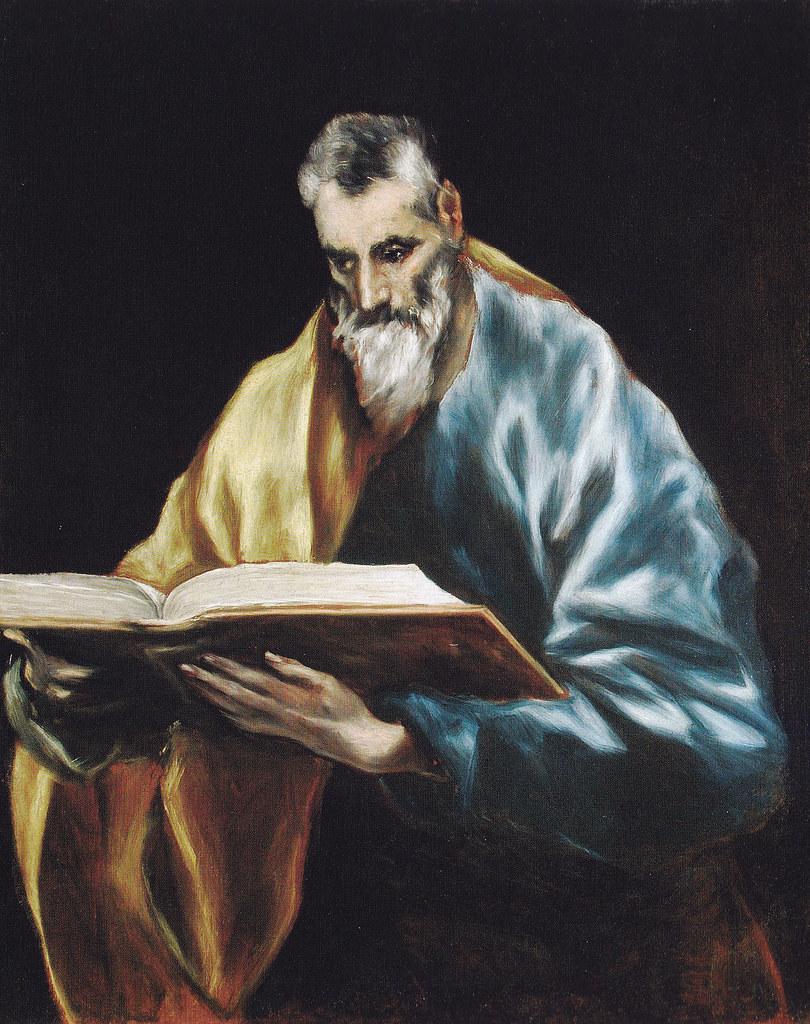 San Simón. Obra de El Greco.