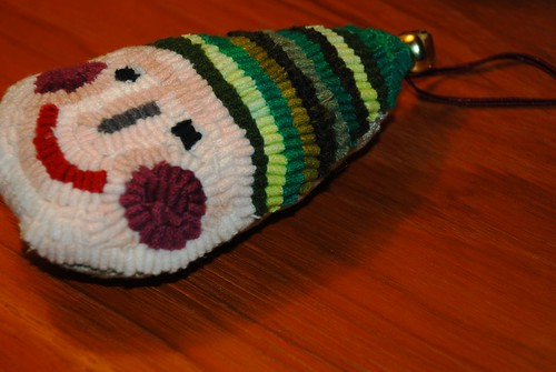 Pixie Rug Hooking Pillow