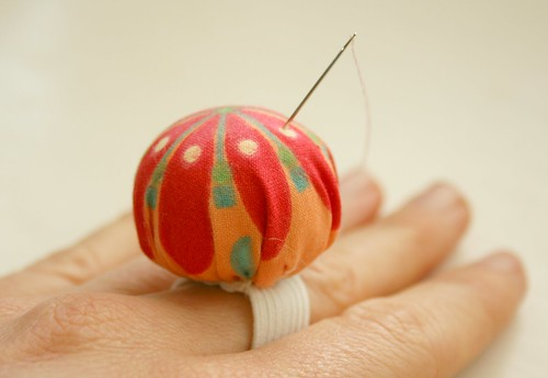 ring pincushion complete!
