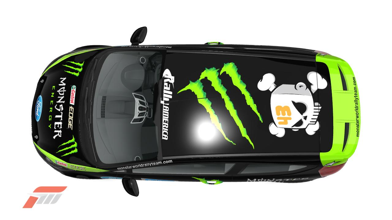 DAKINS124 : KEN BLOCK MONSTER