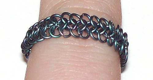 Titanium Ring - Worn
