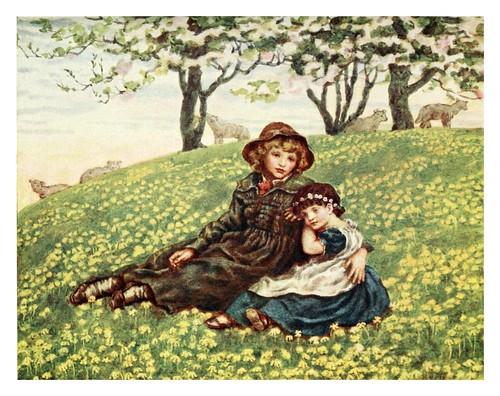 019- Hermano y hermana-Kate Greenaway 1905- Marion Spielmann y George Layard