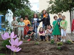 Groene Vingers maken een eigen tuintje