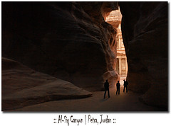 Jordan - Petra - Al Siq Canyon (Lo Scorpione) Tags: pink red orange texture rock postcard petra treasury siq peach canyon jordan gorge shaft alsiq alkhazneh skeletalmess heavenlyvintagetextures