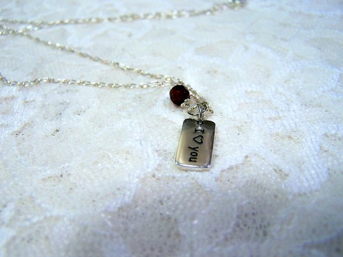 A Simple I Love You Necklace