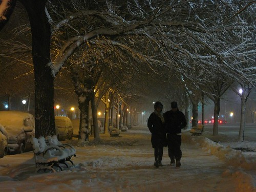 Couples in Crown Heights bonded against winter