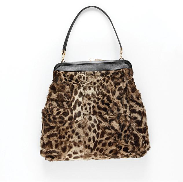 Harricana recycled fur bag 3