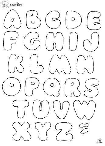 abesedario en graffiti. letras - alfabeto (ARTESonhos