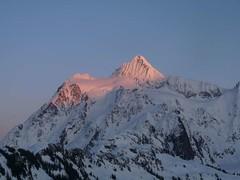 Fading light on Mt. Shuksan