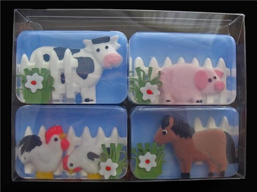 Farm Barnyard Animals Soap
