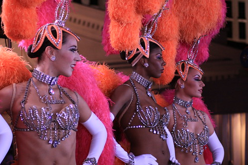 Las Vegas Showgirl Dancers Jubilee Showgirls of Las Vegas