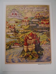 JACK the GIANT - KILLER'S COUNTRY (Mumu X) Tags: vintage giant jack map postcard killer reprint