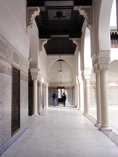 Paris Mosque Colonnade