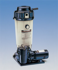Perflex 50 SQFT D.E. Filter System (Filter & Pump)