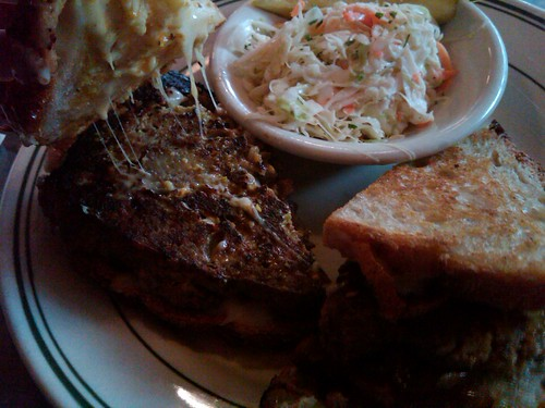 Atomic Meatloaf Meltdown at All Star Sandwich Bar