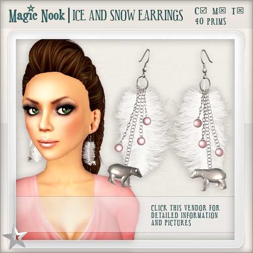 [MAGIC NOOK] Ice And Snow Earrings
