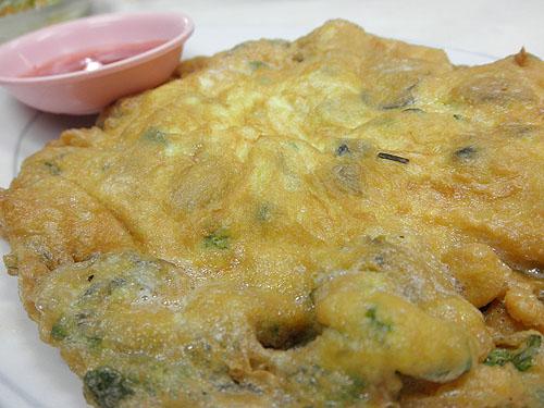 oyster omlet