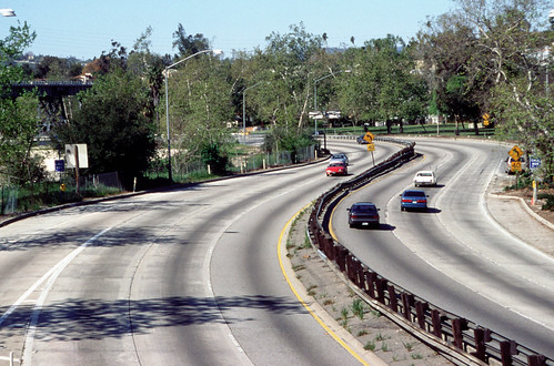 Arroyo_Seco_Parkway_from_Marmion_Way