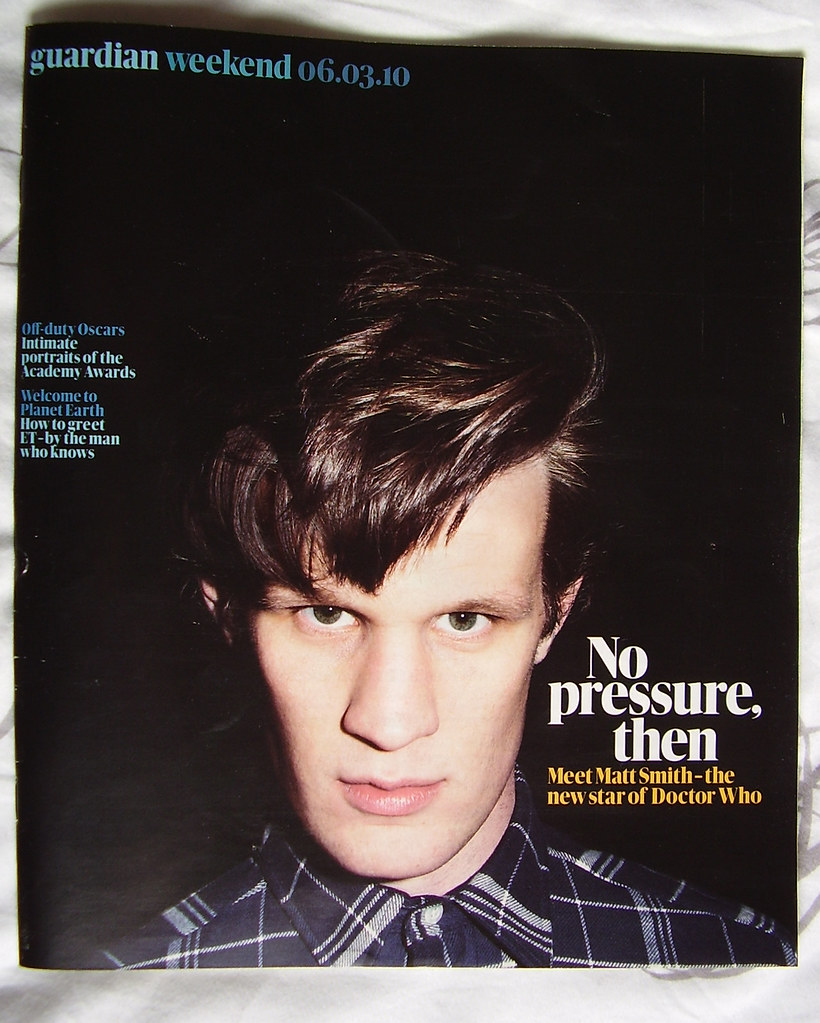 The Guardian - Matt Smith interview