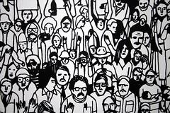 Face In The Crowd (Paul 'Tuna' Turner) Tags: seattle park city travel vacation urban sculpture usa holiday art washington downtown unitedstates unitedstatesofamerica pacificnorthwest northamerica publicart washingtonstate pacificcoast seattleartmuseum greenspace downtownseattle waterfrontpark artexhibit outdoorart outdoorsculpture publicpark olympicsculpturepark worksofart