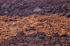lava i (eyebex) Tags: brown abstract black rock delete10 dark flow hawaii lava bigisland aa 010 deletedbydeletemeuncensored