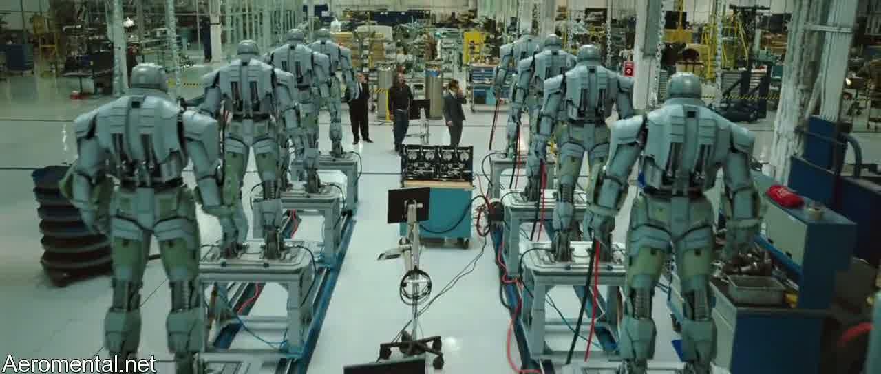 Iron Man 2 robots