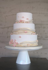 Cherry Blossom + Pearly Swag Cake (Whipped Bakeshop) Tags: weddings cherryblossomcake weddings1 whippedbakeshop cherryblossomweddingcake bestofphilly2010 wca016 philadelphiacakescookiesandcupcakes