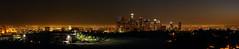 Los Angeles::Los Angeles Skyline (MIKEXETC) Tags: california city urban panorama skyline night la losangeles lowlight panoramic southerncalifornia losangelesskyline elysianpark cityskyline urbanskyline losangelespanorama