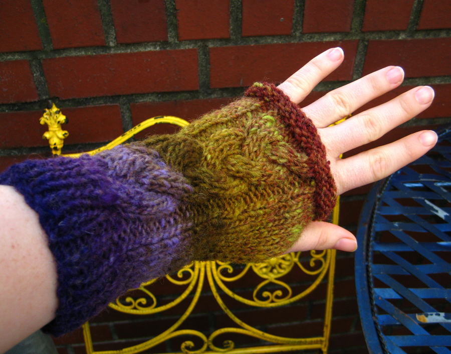 new fingerless glove