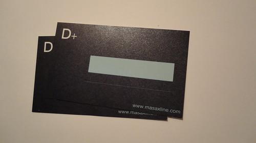 D+名片貼紙_模造GD