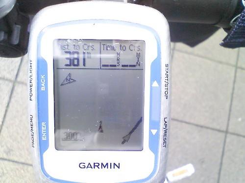 【東海道西走】GPSで簡易ナビ開始
