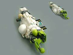"""Spark"" Class Carrier (Pierre E Fieschi) Tags: lego space micro homeworld carrier microspace fieschi microscale microspacetopia pierree spaceshiop"