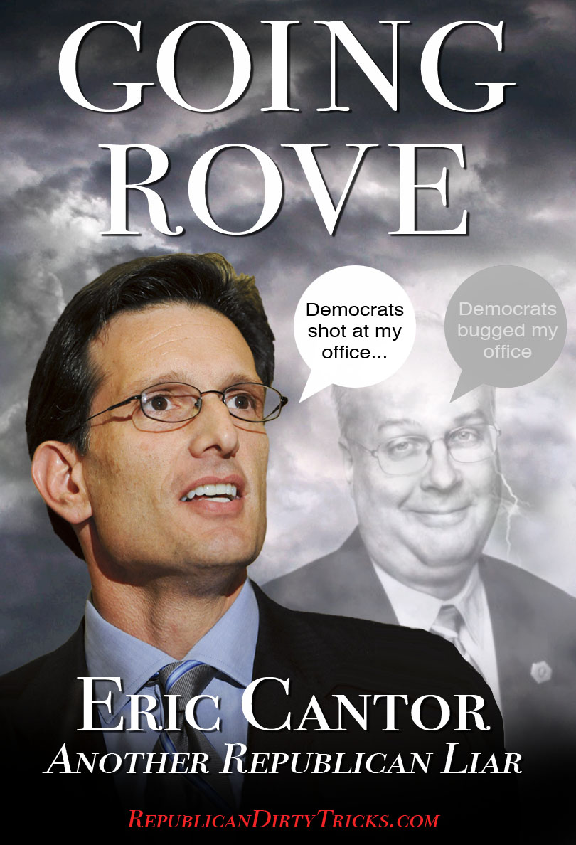 Cantor Conflates Non-Event to Distract from REAL Republican Domestic Terrorism