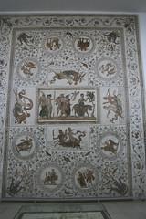 Dionysus mosaic, El Djem (h_savill) Tags: old holiday art history archaeology museum tile march ancient roman northafrica tunisia mosaic unesco tunisie 2010 eljem worldheritagelist eldjem exploreworldwide thysdrus