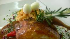 Quaglia in salsa all'aglio e rosmarino con uova in nido di cipolle alla bavarese 3 (www.ziojoe.org) Tags: cucina ricette cucinaitaliana ricettecarne cucinacucinaitalianaricettecarnepescepastadolci