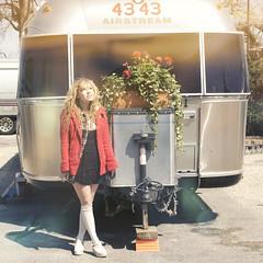 happyairstream (yyellowbird) Tags: flowers ohio girl square lights trailer cari airstream tyjh
