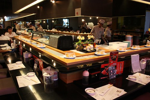 Sushi in Central World