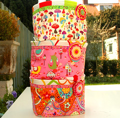 Stack of fabric containers (Holland Fabric House) Tags: baby kids box container fabric alexanderhenry hollandfabrichousezacka