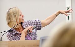 "Lisa Wheeler at SCBWI-LA Writer""s Day 2010"
