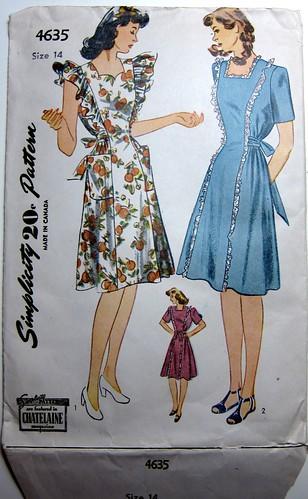 Vintage Simplicity 4635