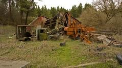 Ye Olde Lemon Orchard Decrepit (jimgspokane) Tags: oldbuildings oldcars oldthings otw oldfarmequipment onlythebestsare