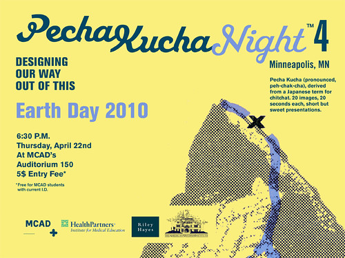 Pechakucha Night 4 MCAD April 22 7.30 pm