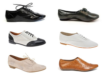 Flat Shoes - Brogues