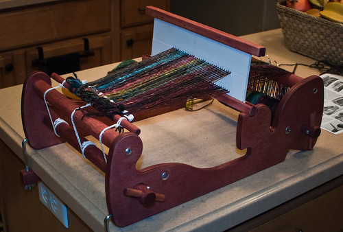 Cricket Rigid Heddle Loom | All Strings Bright & Beautiful