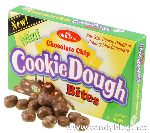 Mint Chocolate Chip Cookie Dough Bites The box for Mint Chocolate Chip